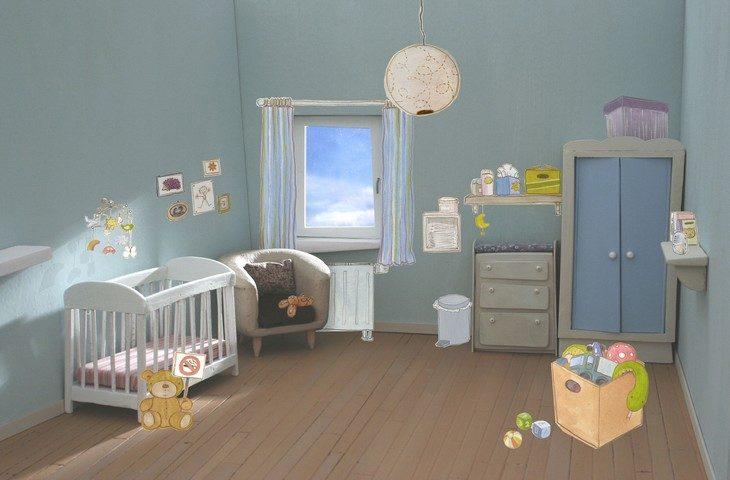 environnement intérieur enfant
