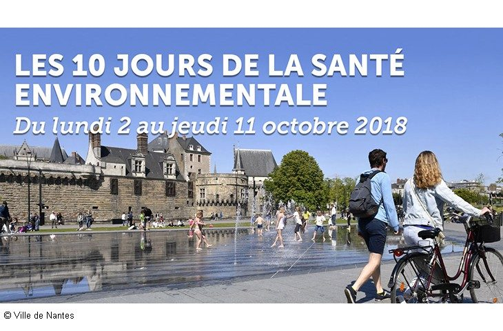 Les 10 jours Santé environnentale de Nantes