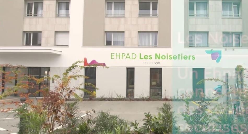 L'Ehpad connectée Les Noisetiers