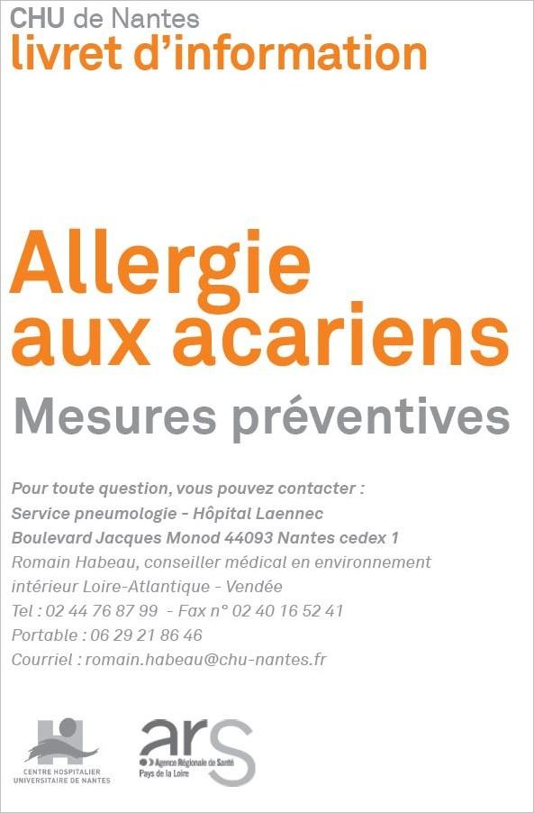 Combattre les allergies aux acariens