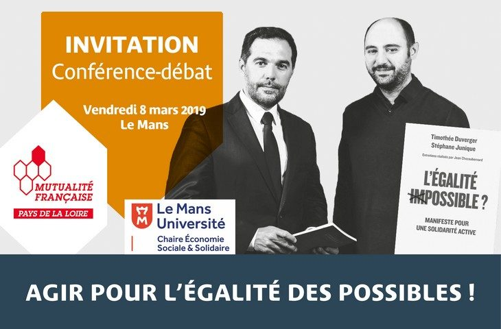 Séminaire Charles Gide au Mans avec Stéphane Junique président d'Harmonie Mutuelle et de VYV Care