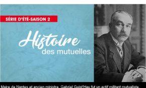 Gabriel Guist'Hau, ancien maire de Nantes et ministre et actif militant mutualiste
