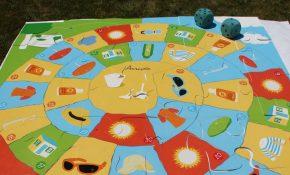 jeu de l'oie sur le soleil
