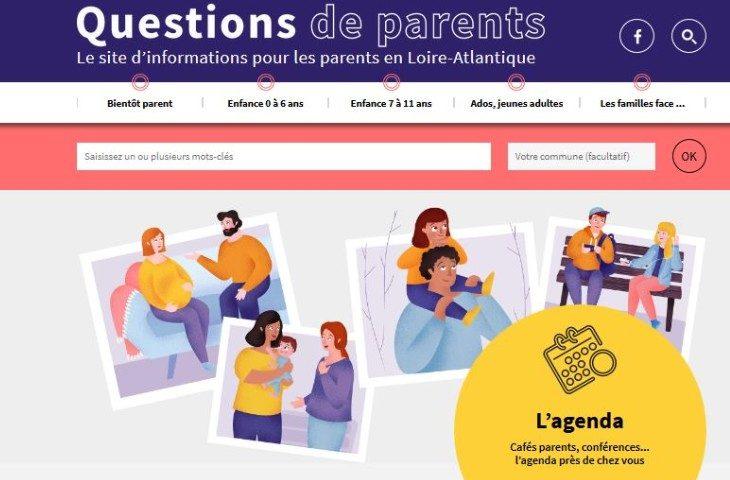 Le site internet pour les parents de Loire-Atlantique