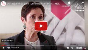 Genviève Couraud à la Matinale de la Mutualité Française Pays de la Loire