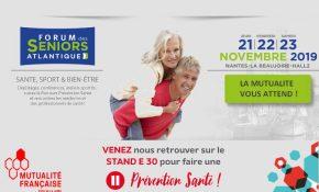 La Mutualité participe au forum des seniors Atlantique 2019
