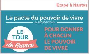 Pacte du pouvoir de vivre : Etape à Nantes