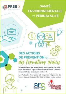 Présentation des actions Santé environnement pour les professionnels de la périnatalité
