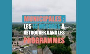 10 mesures pour les élections municipales 2020